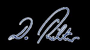 Unterschrift Damian Richter